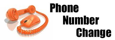 phone number change